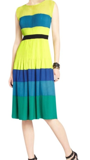 Item - Multicolor Kassandra Mid-length Night Out Dress Size 2 (XS)