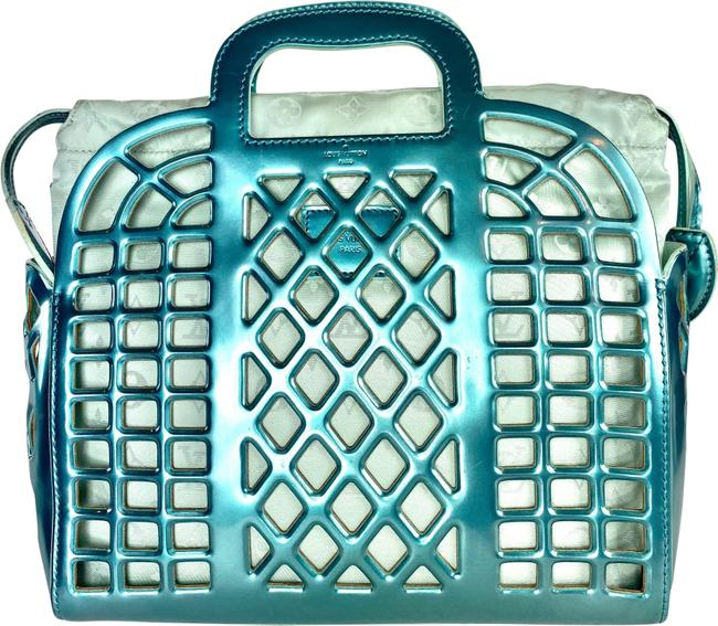 Item - Jelly Limited Edition Reef Pm 4lv61 Turquoise Patent Leather Tote