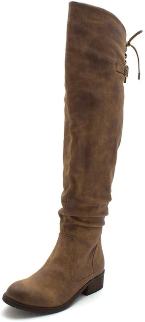 Item - Tan Boots/Booties Size US 6.5 Regular (M, B)