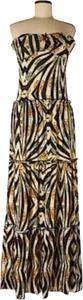 Apple Bottoms short dress Animal Print on Tradesy
