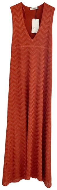 Item - Orange Long Casual Maxi Dress Size 4 (S)