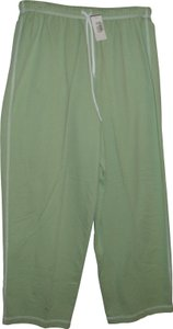 Hot Cotton Summer cotton sweat pant atheletic leisure jogger new lime green small