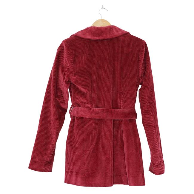 House of Harlow 1960 Berry Red X Revolve Lykke Belted Blazer Size 2 (XS) House of Harlow 1960 Berry Red X Revolve Lykke Belted Blazer Size 2 (XS) Image 6