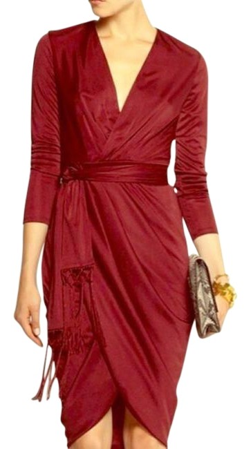 Item - Red Ruby Hill Mid-length Night Out Dress Size 6 (S)