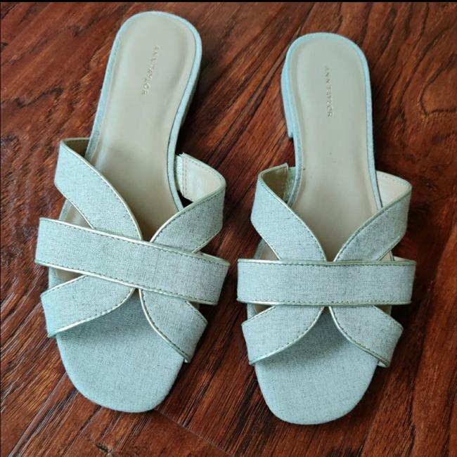 Item - Taupe Slide Sandals Size US 9 Regular (M, B)