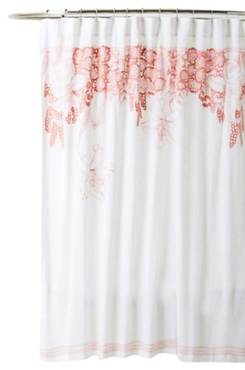 Anthropologie Pink Feminine Shower Curtain Other Tradesy
