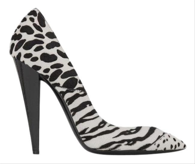 Item - White Era 110 Printed Pumps Size EU 38.5 (Approx. US 8.5) Regular (M, B)