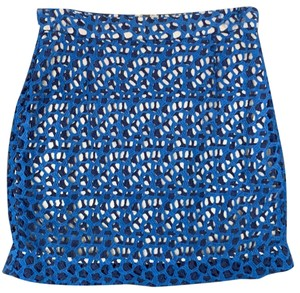 French Connection Mini Skirt blue/navy/white