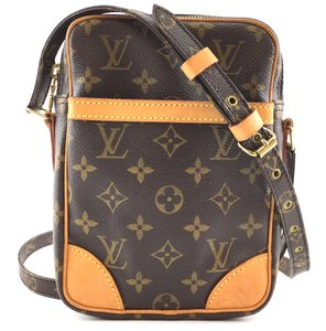 Louis Vuitton Lv Monogram Canvas Danube Cross Body Bag
