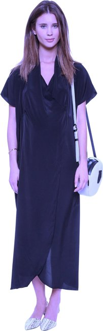 Item - Navy Collection The Hostess Long Casual Maxi Dress Size OS (one size)