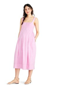 orchid Maxi Dress by Hatch Maternity Sundress Resort Pleated Cotton
