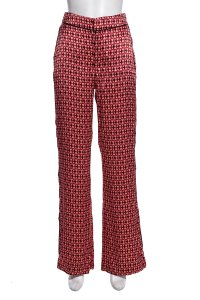 Johanna Ortiz Relaxed Pants Red