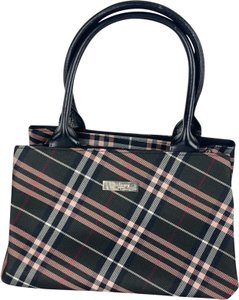 Burberry Blue Label Tote in Black x Red