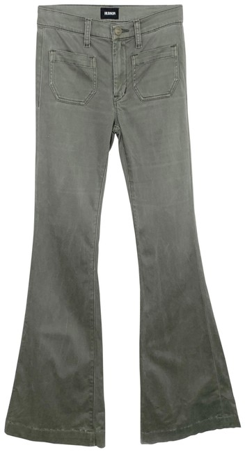 Item - Green Taylor High Waisted Flare Leg Jeans Size 25 (2, XS)