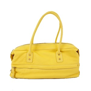 Celine Satchel in Yellow