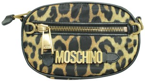 Moschino Casual Bags Daily Animal Print Clutch