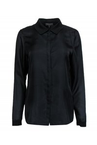 Rag & Bone Shirts Silk Buttonup Top black