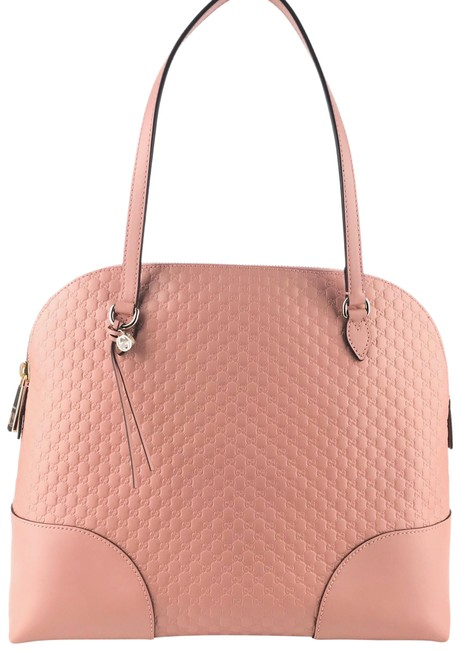 Item - Dome New 449243 Microguccissima Soft Pink Leather Shoulder Bag