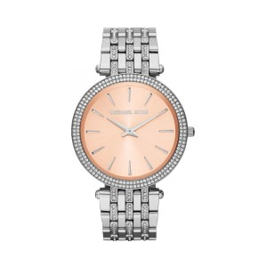 Michael Kors Michael Kors Women's DARCI SILVER BROWN CRYSTALS MK 3218 WATCH