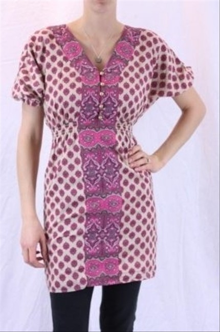 Juicy Couture short dress Paisley pink Martinique Boho on Tradesy