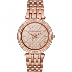 Michael Kors Michael Kors Women's DARCI ROSE GOLD CRYSTALS MK 3399 WATCH