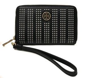 Tory Burch NEW TORY BURCH Robinson Perforated Smartphone Wristlet Wallet