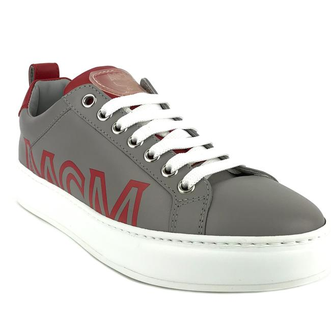 Item - Gray New Logo Low Top Leather 39 / Sneakers Size US 9 Regular (M, B)