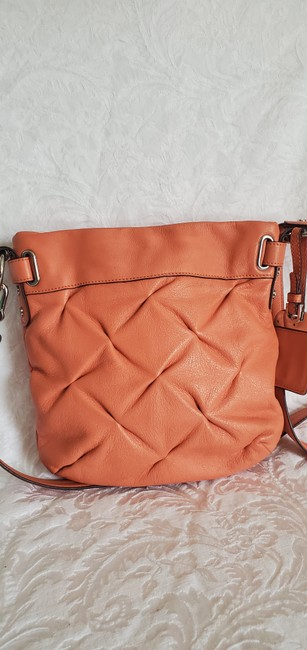 Item - Hobo Quilted Salmon Leather Cross Body Bag