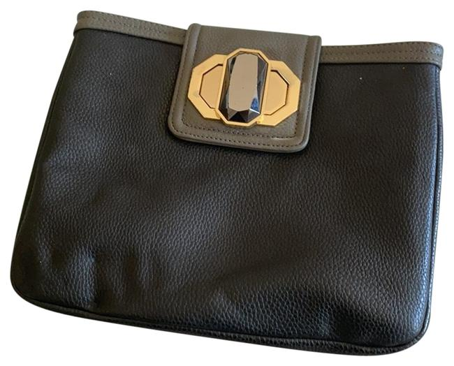 Item - Black with Gold Clutch