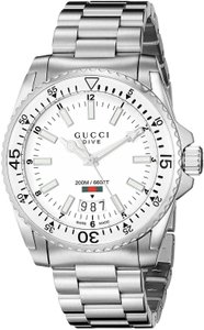 Gucci Gucci Watch YA136302 Gucci Dive 40mm Stainless Steel Men's Watch