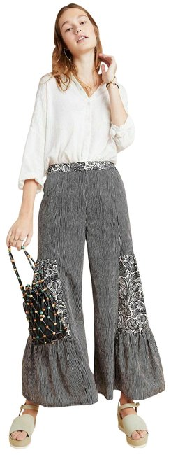 Item - New Black and Cream Blooming Print Oceana Breezy Pants Size 6 (S, 28)