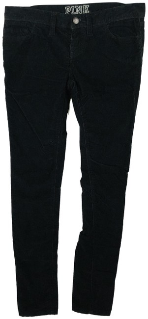 Victoria's Secret Black Corduroy Pants Size 2 (XS, 26) Victoria's Secret Black Corduroy Pants Size 2 (XS, 26) Image 1