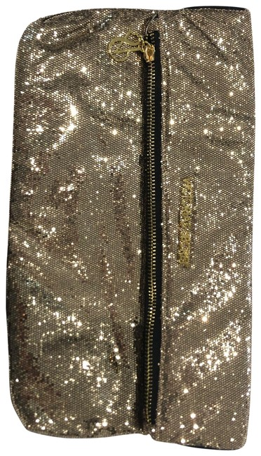 Item - Gold and Black Sequin Clutch