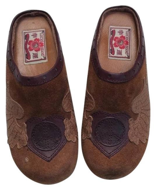 Lucky Brand Brown Fable Mules/Slides Size US 6.5 Regular (M, B) Lucky Brand Brown Fable Mules/Slides Size US 6.5 Regular (M, B) Image 1