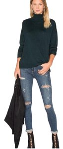 AGOLDE Highrise Distressed Stretch Skinny Jeans-Distressed