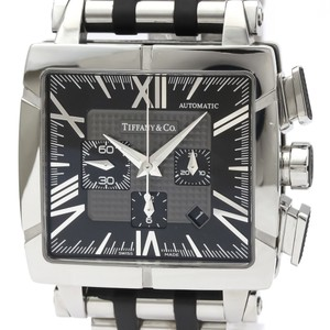 Tiffany Tiffany Atlas Automatic Rubber,Stainless Steel Men's Sports Watch Z1100.82.12A10A00A