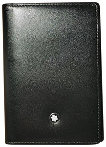 Montblanc Meisterstück Leather Business Card Holder with Gusset
