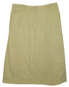Field Gear Maxi Skirt Tan
