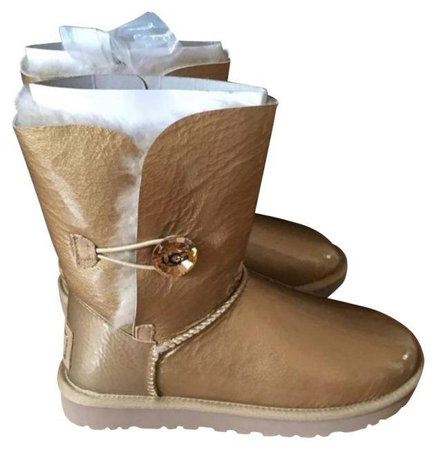 Item - Gold Mirage Bailey Button Boots/Booties Size US 6 Regular (M, B)
