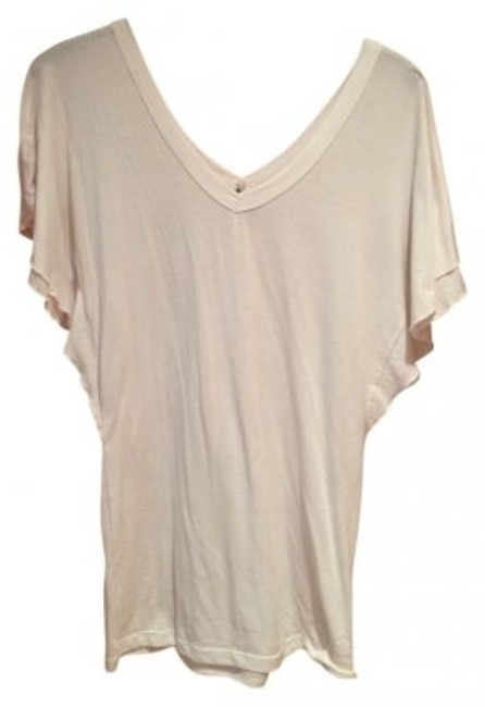 Poof! Apparel Cotton Rayon Spandex Top Cream