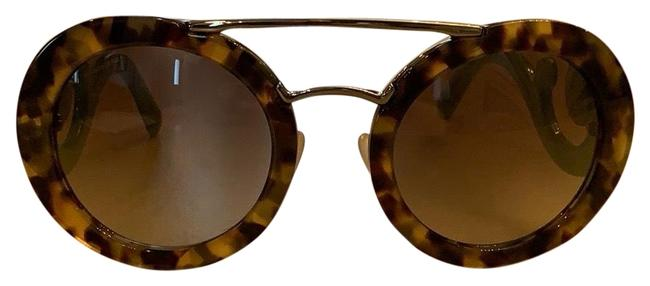 Item - Green and Brown 135 Sunglasses