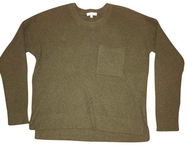 Item - Thompson Pocket Olive Green Sweater