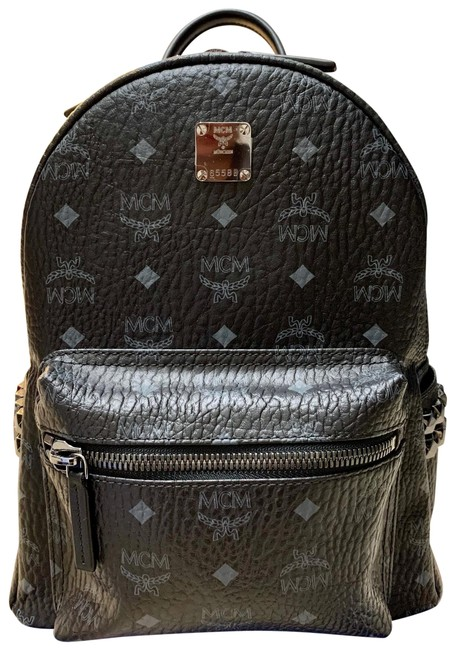 Item - New Small Stark Side Stud Black Coated Canvas Backpack