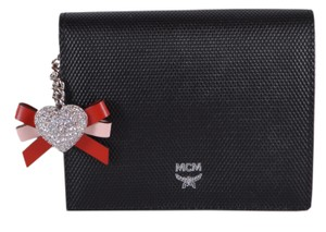 MCM New MCM Canvas Colorblock Crystal Charm Wallet