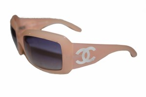 Chanel Chanel Light Pink Frame CC Mother of Pearl Sunglasses 5076-H