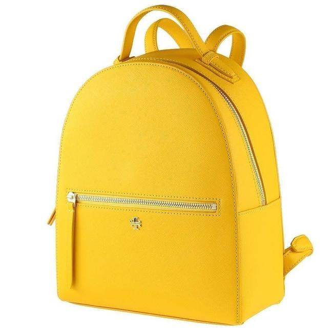 Item - Emerson Medium Cassia Yellow Saffiano Leather Backpack