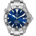 Omega Omega Seamaster 300M Blue Dial Steel Mens Watch 2255.80.00 Card