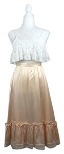 Gunne Sax Skirt Cream