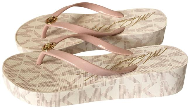 Item - White Blush Gold Bedford Sandals Size US 7 Regular (M, B)