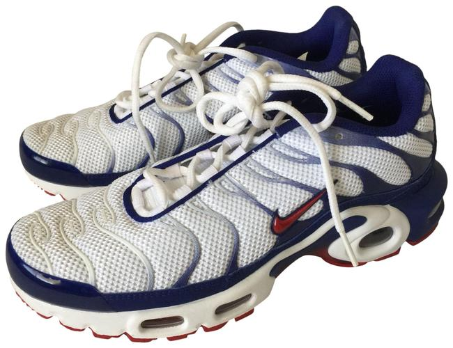Nike Red White Blue Air Max Plus Patriotic Sneakers Size Us 9